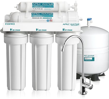 APEC Premium 5-Stage Reverse Osmosis Drinking Water Filter System (ROES-50)