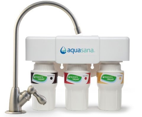 Aquasana AQ-5300.55 3-Stage Under Counter Water Filter System