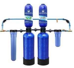 Aquasana EQ-1000-AST-AMZN Filter With Water Softener