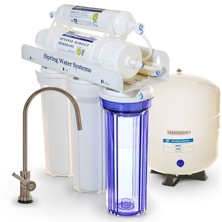 iSpring RCC7 Built in USA WQA Gold Seal Certified 5 Stage Reverse Osmosis Water Filter